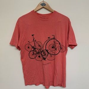 Vintage North Dakota t shirt bicycle size XL